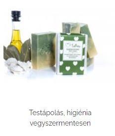 organikus szappan