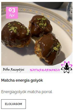 matcha-golyó